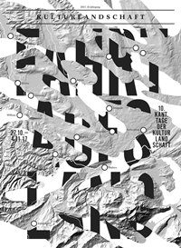 Plakat Kulturlandschaft