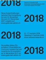 Logo Swiss Art Award 2018