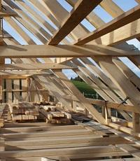 Bauen mit Holz.